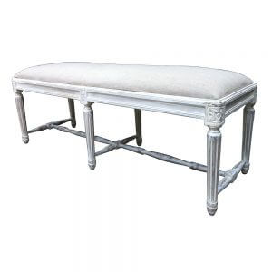 Aimee Gustavian bed end bench