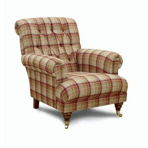 Annabel Buttoned Armchair