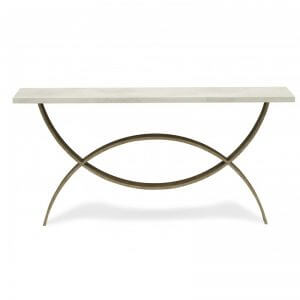 Porta Romana Small Fishtail Console Table