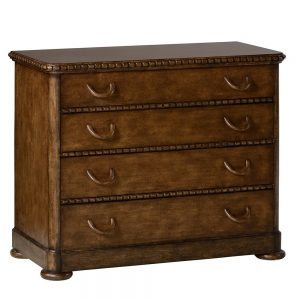 William Yeoward Aberfoyle chest of drawers grey fruitwood