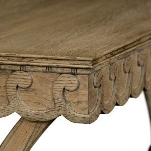 William Yeoward Armadale Console Table Washed Oak