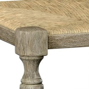 William Yeoward Bodiam bench greyed oak