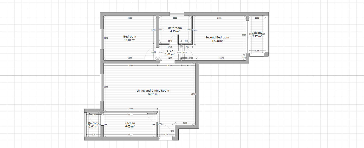 Furniture Layouts With CAD For Virtual 3D Planning